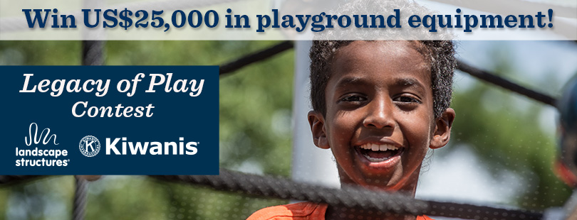 Win US$25,000 in playground equipment