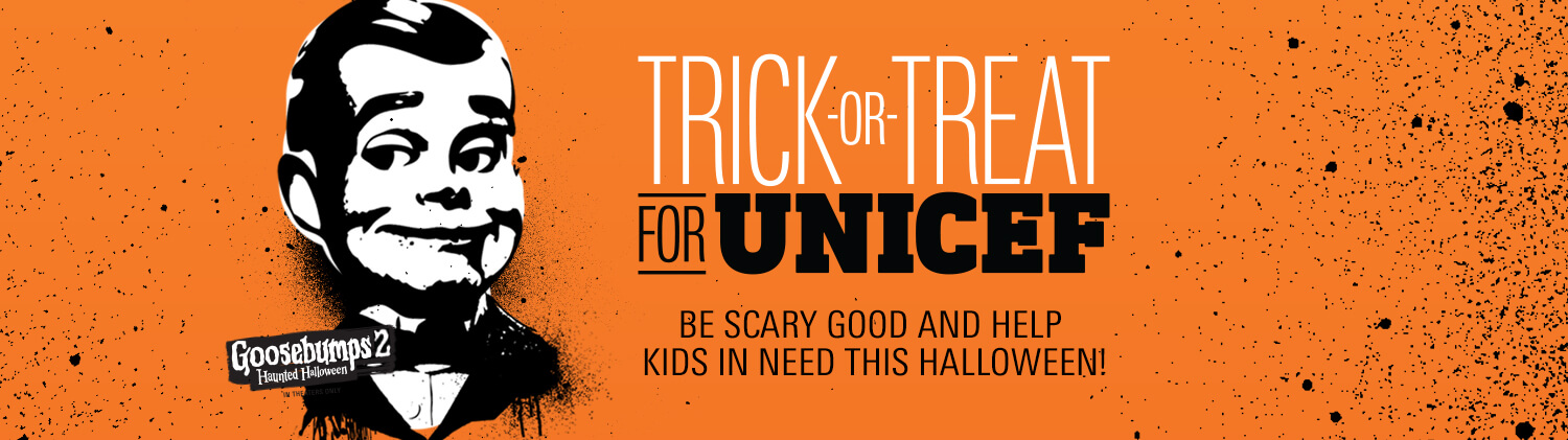 Trick-or-Treat for UNICEF 2018