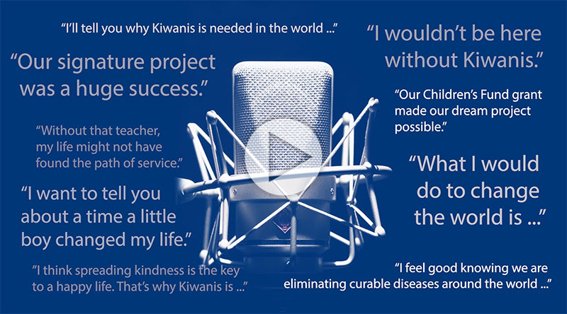 Play video: Promotion Kiwanis Experience Story Booth