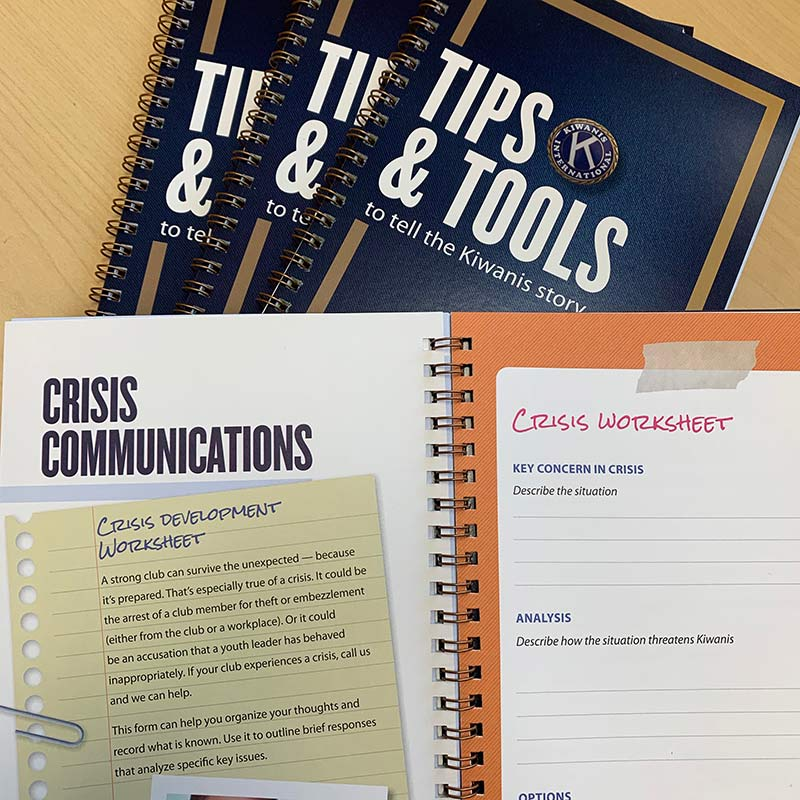 Tips and Tools to tell the Kiwanis story