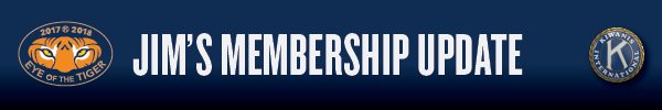 Jim's membership update