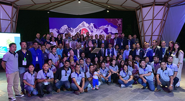 Kiwanis Nepal District holds its first district convention in Kathmandu.