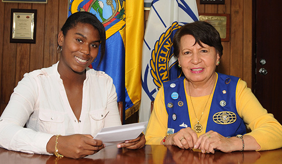 Kiwanians in Ecuador help young women succeed in school and life.