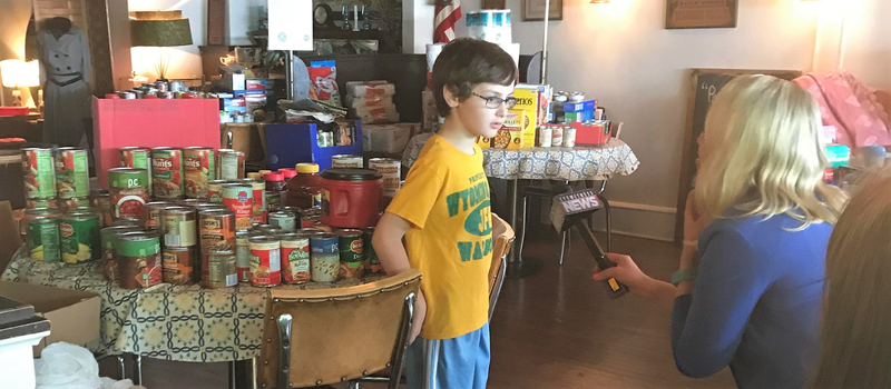 8-year-old wants to serve the community, looks to Kiwanis club for help