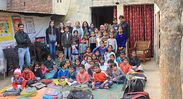 In remote region of India, Ontario Kiwanians send schools to children