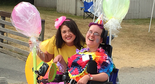 Physical disabilities don't discourage Kamp Casey kids from having the time of their lives.