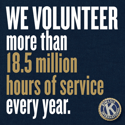 Kiwanis members celebrated on International Volunteer Day Social
