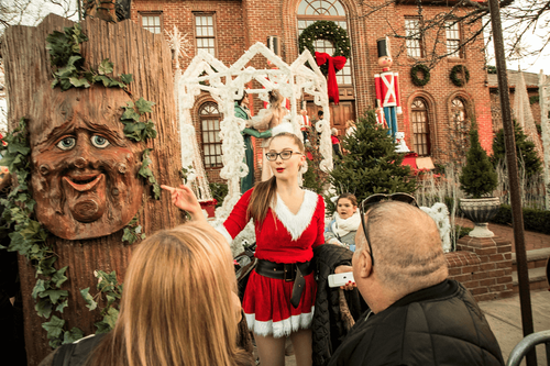 Dancers, singers and Santa are a common sight at Joe Mure's home. This year, the New York Kiwanian's holiday party and fundraiser will have a national audience.
