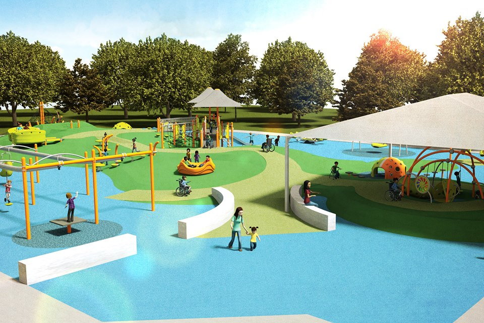 All kids will play together with award from Landscape Structures, Kiwanis International