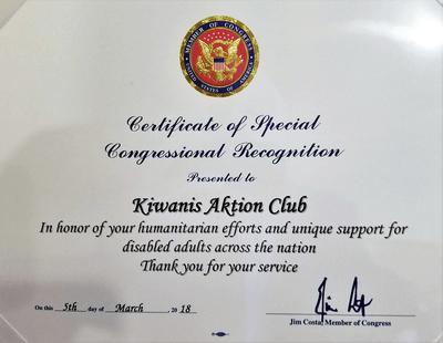 Members celebrate inaugural Aktion Club Week