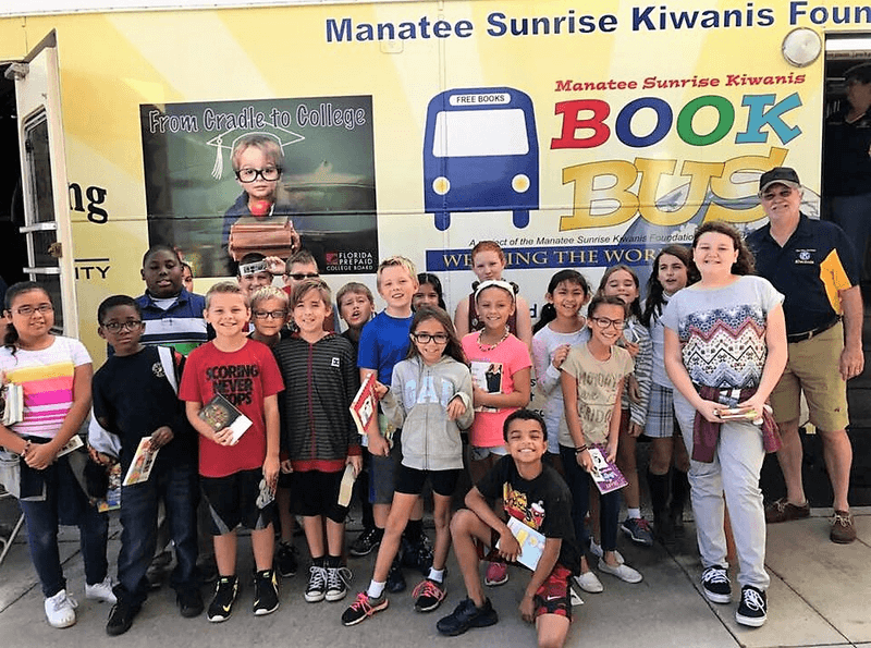 Kiwanis club creates signature project to improve literacy