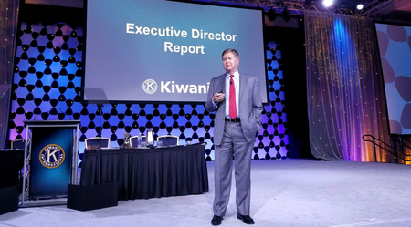 Kiwanis International Executive Director Stan Soderstrom