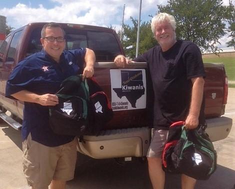 Kiwanis clubs respond to Texas disaster