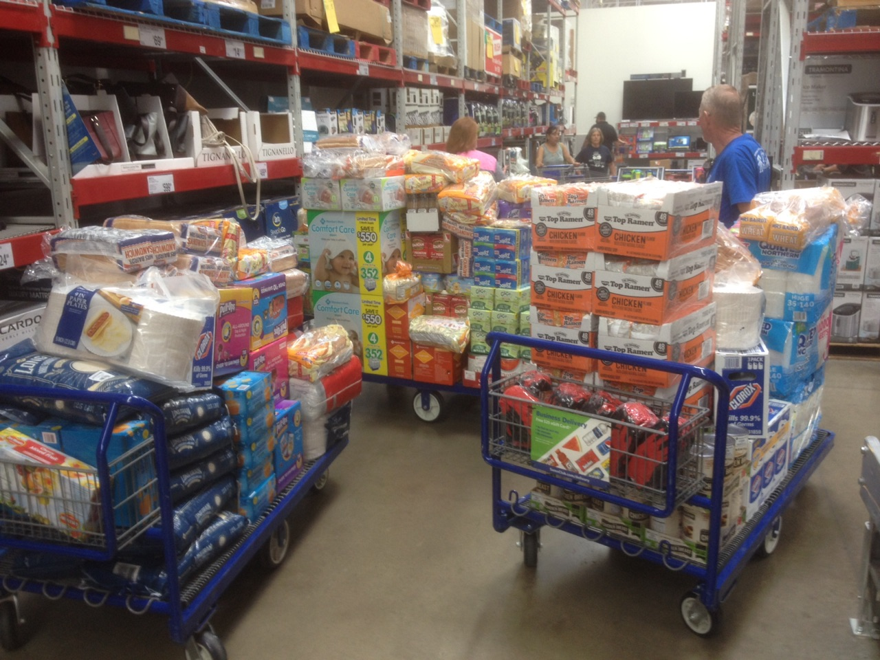 Kiwanis Clubs get supplies to send to Texas