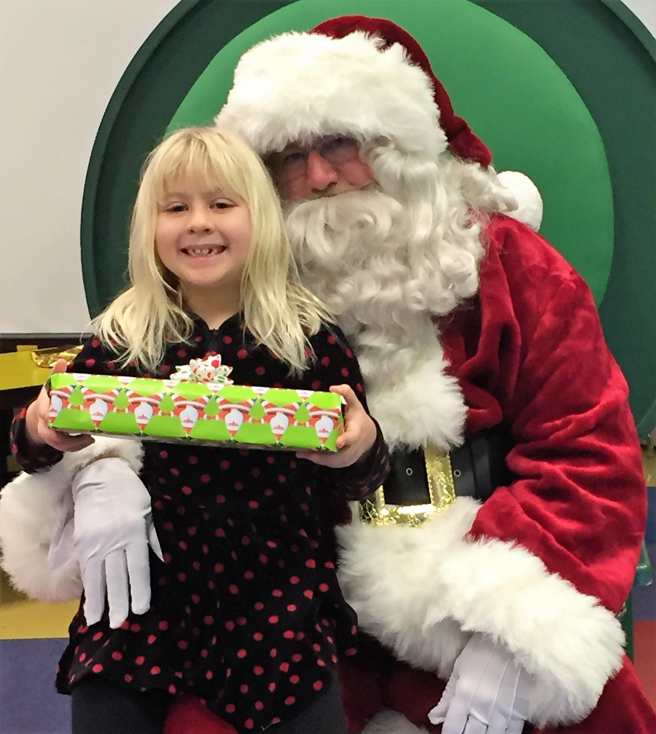 Santa and Kiwanis give kids a Christmas to remember