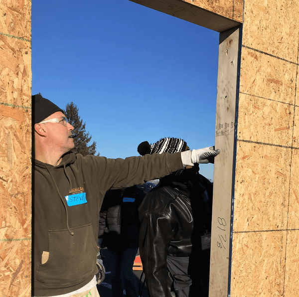 There's no place like home. That's why Kiwanis club members in Indiana are helping kids by building houses.